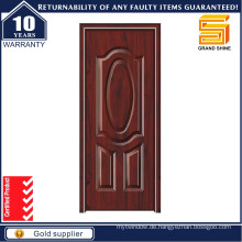 American Style Wood Edge Stahl Entry Metall Sicherheit Tür