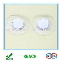 cubierta de PVC coser botón magnético