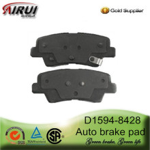 D1594-8428 Rear Brake Pad for 2012 Year Hyundai Veloster (OE:58302 2VA30)