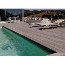Foshan Composite Wood Swimming Pool Decking -- Barefoot, Easy Clean