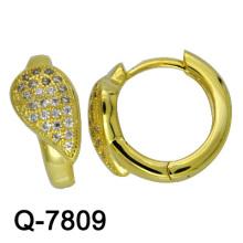 Круглые ювелирные изделия стерлингового серебра 925 (Q-7809)