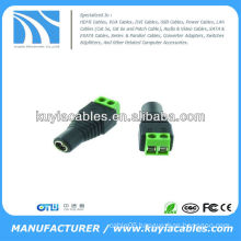 5.5 x 2.1mm CCTV DC Power Female Jack Connector