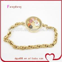 Moda venda quente amor pulseira de aço inoxidável jóias