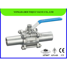 3 PC 2 Inch API 6D Ball Valve