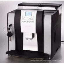 Ecran LCD Cappuccino Machine à café entièrement automatique
