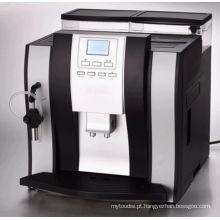 Máquina de Café Totalmente Automática para Cappuccino com Display LCD