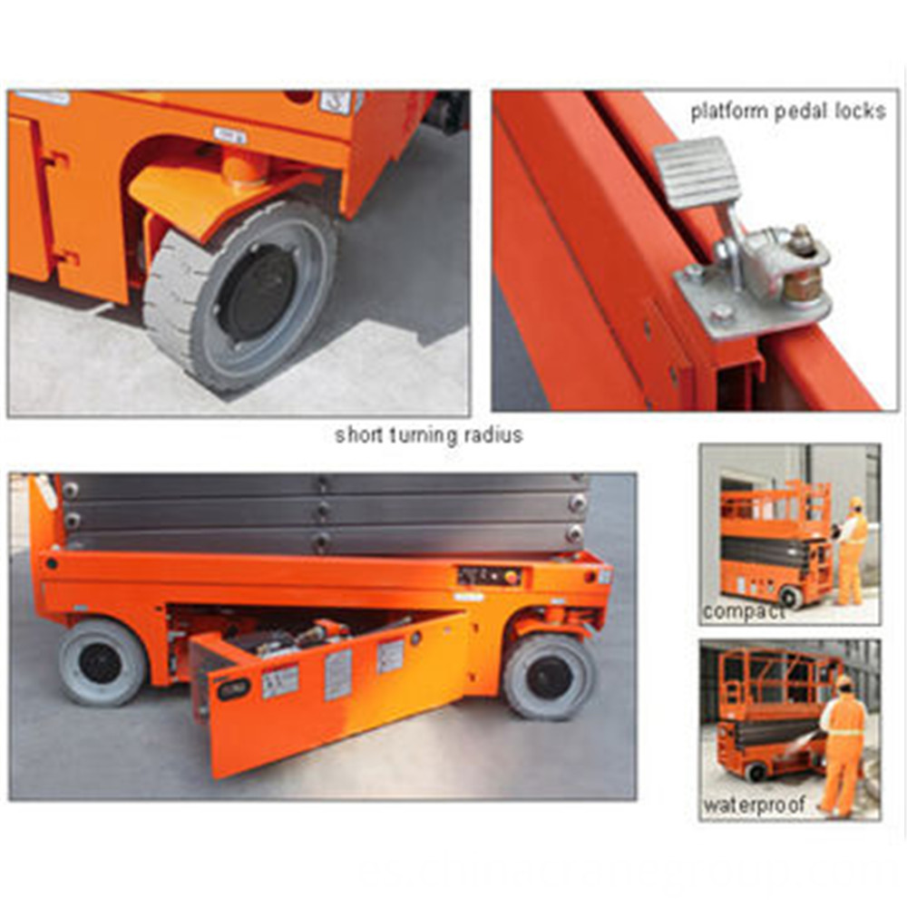 Scissor-lift PART SHOW -LT CRANE
