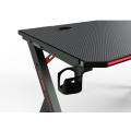 Mesa ergonômica para jogos Rgb Led Light E-Sports Computer