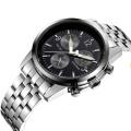 2016 nouvelle montre à quartz de style, montre en acier inoxydable de mode Hl-Bg-195