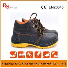 Chaussures de travail de sécurité résistant aux produits chimiques sur le champ pétrolier RS801