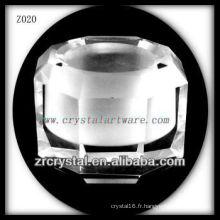 Bougeoir en cristal populaire Z020