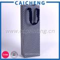 Flat handle customized design shopping gift printed kraft paper bag