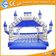 Castelo bouncy engraçado inflável atrativo, casas de alta qualidade do salto para a venda