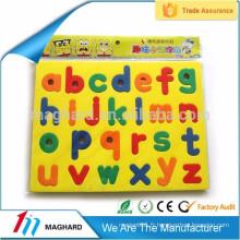 Jouets éducatifs pour enfants Magnetic EVA foam Lettre EVA puzzle à aimants plats