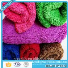 Artículo de la promoción los 40 * 40cm que lavan la toalla coralina de la microfibra del paño grueso y suave del invierno