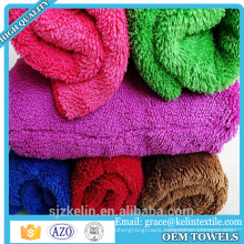 Promotion item 40*40cm car washing coral fleece microfiber towel