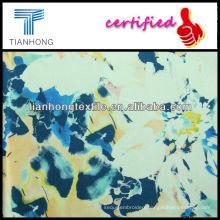 Twill Spandex Printed Fabric/Cotton Spandex Printed Fabric/Spandex Fabric For Pant