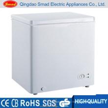 100L small mini commercial deep freezer chest freezer