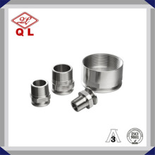 Bonne qualité AISI 304 316 Raccordement sanitaire Raccords de tuyaux de tuyaux Accouplement en acier inoxydable