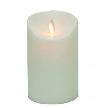 flameless ivory Luminara Wax Candle