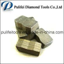 Segment de diamant d'outils de pierre de coupe pour le bloc de marbre de dalle de granit