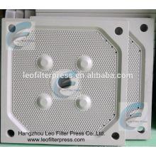 Leo Filter Press Filtro de aceite de palma Presione la placa de filtro de membrana