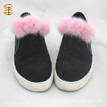 Dernières Fashion Fur Pom Pom Accessary Wholesale For Bag Hat Chaussures Décoration intérieure
