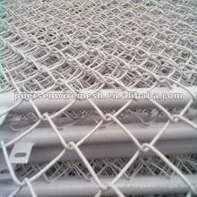 13 # galvanizado ou PVC revestido Chain Link Fence - Exportação