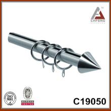 Стяжной стержень с металлическим наконечником C19050 Финишный, шторный штифт, аксессуар для штор, двойной комплект штор