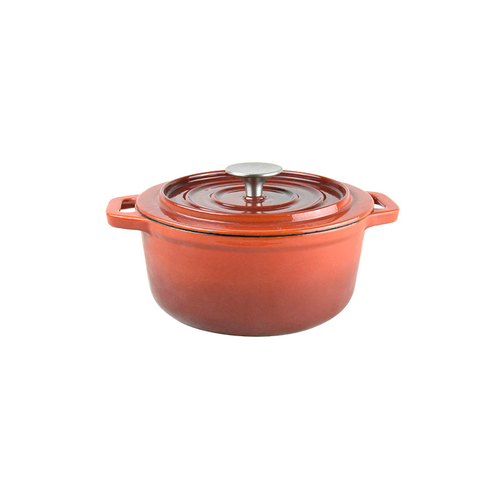Oval Mini Cast Iron Casserole Pot