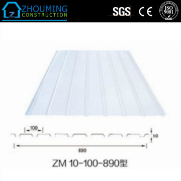 Galvaniserad Corrugated Color Roof Steel