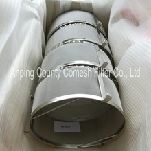 304 Stainless Steel Wire Mesh Filter Cylinder