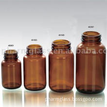 Amber glass bottles for tablet