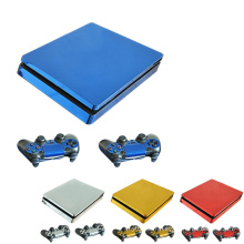 Autocollants de machine de jeu décalcomanies paster Set Controller Hôte Poignée Couverture Peau pour Sony PlayStation Play Station PS 4 PS4 Slim