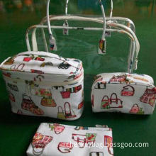 PVC Cosmetic Bags, Silkscreen, Imprint and Embroidery