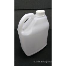 2.5L quadratische weiße Plastikflasche