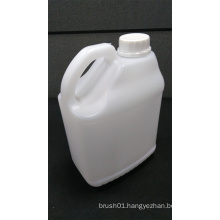 2.5L Square White Plastic Bottle