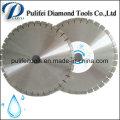 Disque de coupe humide Lame de scie circulaire en diamant de granit Marbre
