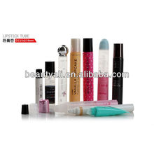 cosmetic lip balm tube and lipstick tubes