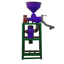 DONGYA 6N-40 1012 Mini máquina de descasque de arroz