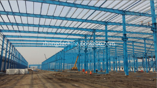 Prefabricated Warehouse Buildings in Steel
