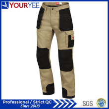 100% algodón estilo de carga de trabajo pantalones a un precio asequible (YWP110)