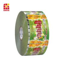 Película de rollo de envasado de alimentos flexible