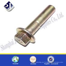 Perno de brida hexagonal de acero inoxidable A2 A4 M14