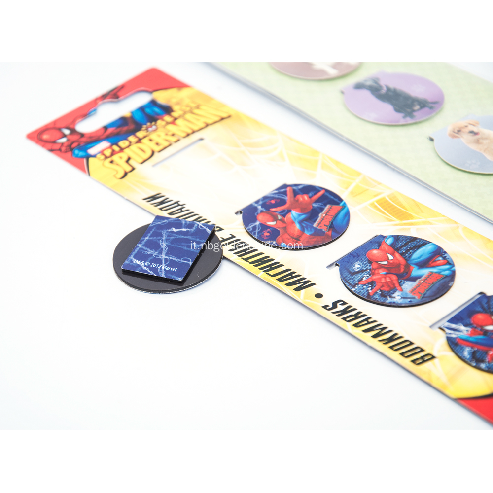 Spiderman Foldable Magnet Book Mark