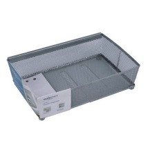 Silver Mesh Wire File Tray