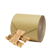 Qpak Reusable Kraft Paper Cushion Pressed Protective Edge Shape Recyclable Paper Cushion