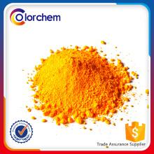 Pigmentos profundos de alta qualidade em pó amarelo