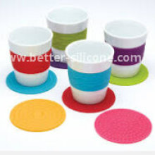 Promotion Gift Silicone Rubber Cup Mat