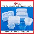 Пластиковый контейнер для пищевых продуктов с крышкой / ящиком для хранения